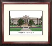 University of Utah Alumnus Framed Lithograph