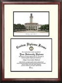 University of Texas, Austin Scholar Framed Lithograph with Diploma