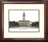 University of Texas, Austin Alumnus Framed Lithograph