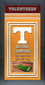 University of Tennessee Volunteers Framed Championship Banner