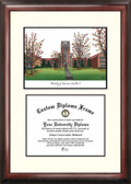 University of Tennessee, Knoxville Scholar Framed Lithograph with Diploma