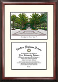 University of South Florida Scholar Framed Lithograph with Diploma