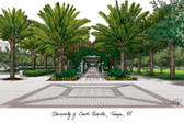 University of South Florida Lithograph