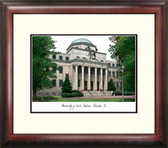 University of South Carolina Alumnus Framed Lithograph