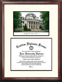 University of South Carolina Scholar Framed Lithograph with Diploma