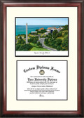 University of Pittsburgh Scholar Framed Lithograph with Diploma
