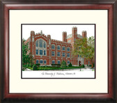 University of Oklahoma Alumnus Framed Lithograph