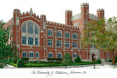 University of Oklahoma Lithograph