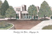 University of New Mexico Lithograph