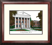 University of Mississippi Alumnus Framed Lithograph