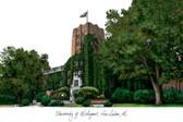 University of Michigan Lithograph