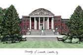 University of Louisville Lithograph