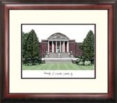 University of Louisville Alumnus Framed Lithograph