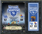 University of Kentucky National Champions Plaque