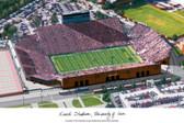 University of Iowa: Kinnick Stadium Lithograph