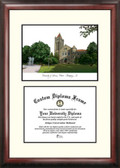 University of Illinois, Urbana-Champaign Scholar Framed Lithograph with Diploma