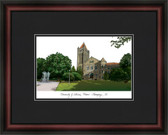 University of Illinois, Urbana-Champaign Academic Framed Lithograph