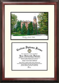 University of Colorado, Boulder Scholar Framed Lithograph with Diploma