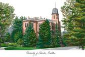 University of Colorado, Boulder Lithograph
