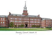 University of Cincinnati Lithograph