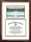 University of Central Florida Scholar Framed Lithograph with Diploma