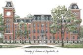 University of Arkansas Lithograph