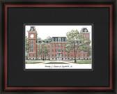 University of Arkansas Academic Framed Lithograph