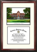 University of Arizona Scholar Framed Lithograph with Diploma