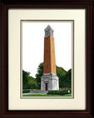 University of Alabama, Tuscaloosa Alumnus Framed Lithograph