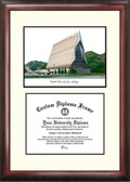 United States Air Force Academy Scholar Framed Lithograph with Diploma