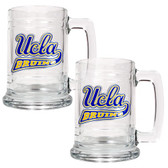 UCLA Bruins 2pc Glass Tankard Set