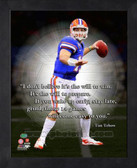 Tim Tebow Florida Gators Framed ProQuote # 6 AANY008-11x14