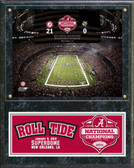 The Superdome University of Alabama Crimson Tide 2012 BCS National Champions Plaque