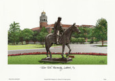 Texas Tech University Lithograph