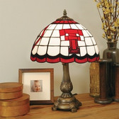 Texas Tech Red Raiders Tiffany Table Lamp