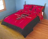 Texas Tech Red Raiders Reversible Comforter Set (King)