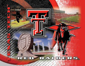 Texas Tech Red Raiders Printed Canvas