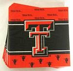 Texas Tech Red Raiders Lunch Napkins