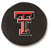Texas Tech Red Raiders Black Tire Cover, Small