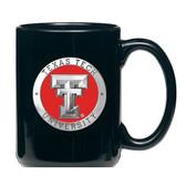 Texas Tech Red Raiders Black Coffee Mug Set