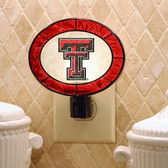 Texas Tech Red Raiders Art Glass Nightlight