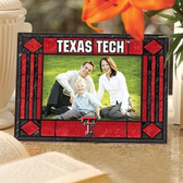 Texas Tech Red Raiders Art Glass Horizontal Picture Frame