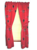 "Texas Tech Red Raiders 42"" x 63"" Curtain Panels"