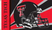Texas Tech Red Raiders 3 Ft. x 5 Ft. Flag w/Grommets - Helmet Design