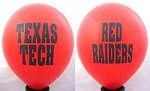 "Texas Tech Red Raiders 11"" Balloons"