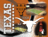 Texas Longhorns Printed Canvas