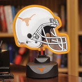 Texas Longhorns Neon Helmet Desk Lamp