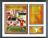 Texas Longhorns Milestones & Memories Framed Photo