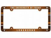 Texas Longhorns License Plate Frame - Full Color