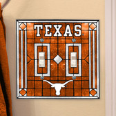 Texas Longhorns Double Lightswitch Cover